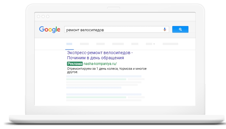 контекстная реклама Google Adwords от prodvizhenie-v.ru